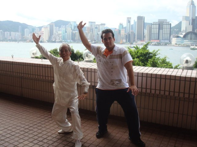 First Tai Chi lesson
