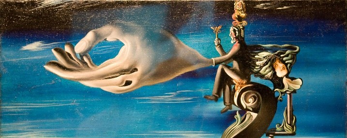 Dali's Hand of Remorse; and what my dreams feel like right after I awake